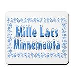 Mille Lacs Minnesnowta Mousepad
