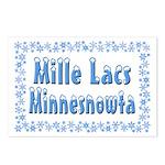 Mille Lacs Minnesnowta Postcards (Package of 8)