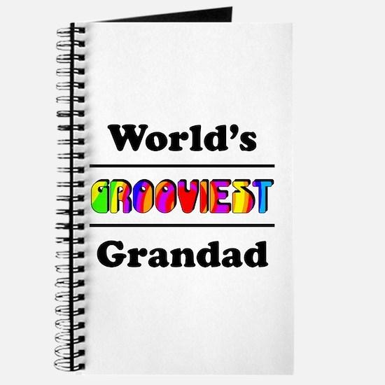 World's Grooviest Grandad Journal