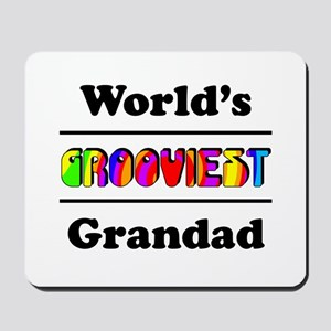 World's Grooviest Grandad Mousepad