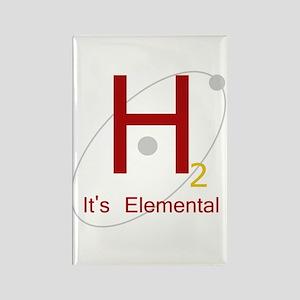H2, It's Elemental Rectangle Magnet