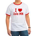 I Love Isle Ringer T
