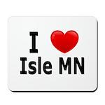 I Love Isle Mousepad