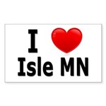 I Love Isle Sticker (Rectangle 10 pk)
