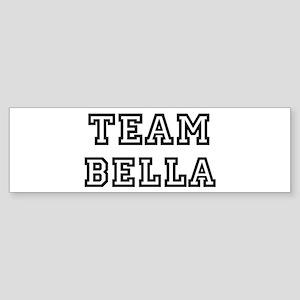 Team Bella Bumper Sticker