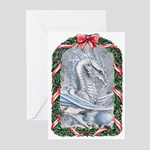 Winter Dragon Greeting Cards (Pk of 20)