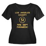 Emergency Squad 51 Women's Plus Size Scoop Neck Da
