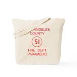 Emergency Squad 51 Tote Bag