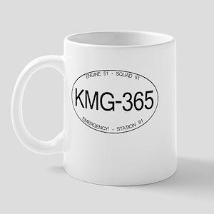 KMG-365 Squad 51 Emergency Mug