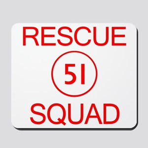 Squad 51 Emergency Mousepad