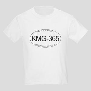 KMG-365 Squad 51 Emergency! Kids Light T-Shirt