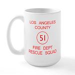 Squad 51 Emergency! Large Mug