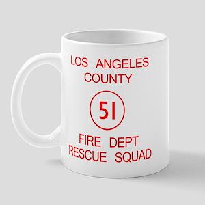 Squad 51 Emergency! Mug