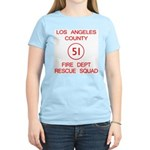 Squad 51 Emergency! Women's Light T-Shirt