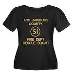 Squad 51 Emergency! Women's Plus Size Scoop Neck D