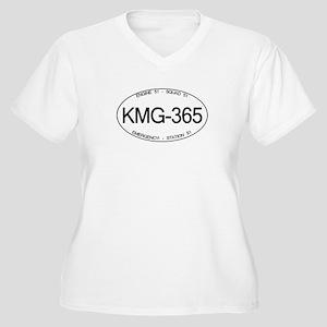 KMG-365 Squad 51 Emergency! Women's Plus Size V-Ne
