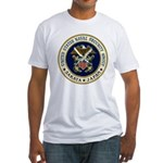 NAVAL SECURITY GROUP, SAKATA Fitted T-Shirt