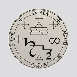 Seal of Azrael Ornament (Round)