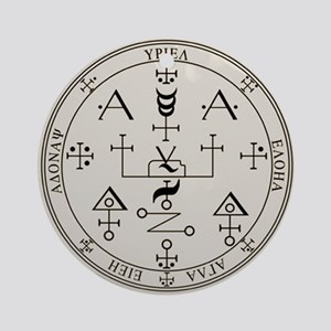 Seal of Uriel Ornament (Round)