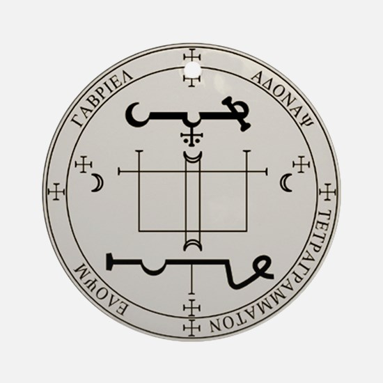 Seal of Gabriel Ornament (Round)
