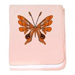 'Butterfly Tattoos baby blanket