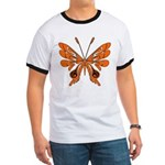 'Butterfly Tattoos Ringer T