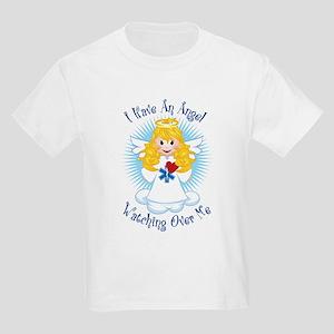 Angel Watching Me EMT Kids Light T-Shirt