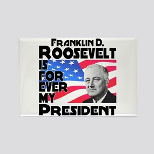 FDR 4ever Rectangle Magnet