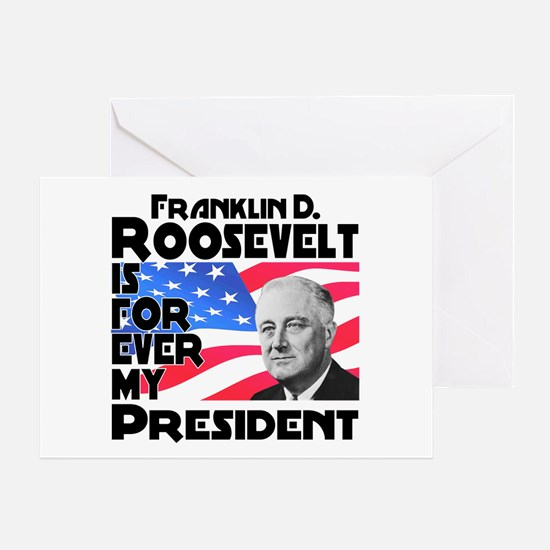 FDR 4ever Greeting Card