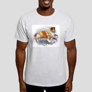 Shetland Sheepdog Ash Grey T-Shirt