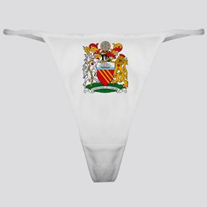 Manchester Coat of Arms Classic Thong