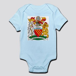 Manchester Coat of Arms Infant Creeper