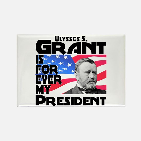 Grant 4ever Rectangle Magnet
