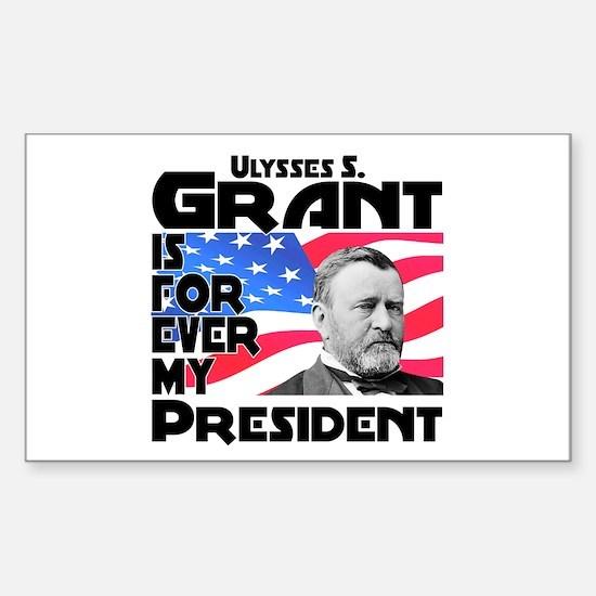 Grant 4ever Sticker (Rectangle)