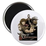 """Revolvers Classic 2.25"""" Magnet (10 pack)"""