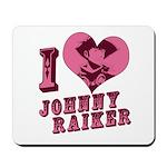 Revolvers I Love Johnny Mousepad