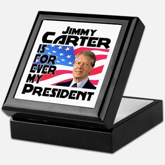 Jimmy Carter My President Keepsake Box