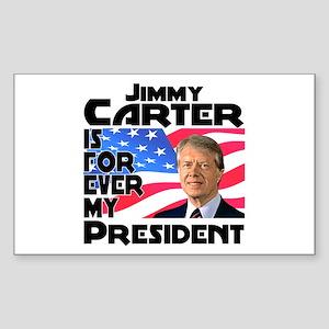 Jimmy Carter My President Sticker (Rectangle)