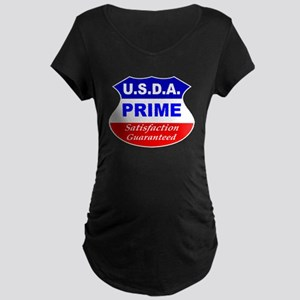 USDA Prime Maternity Dark T-Shirt