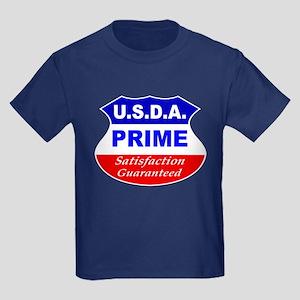 USDA Prime Kids Dark T-Shirt