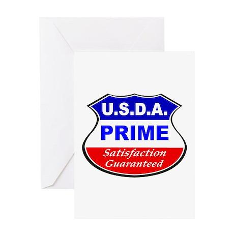 USDA Prime Greeting Card