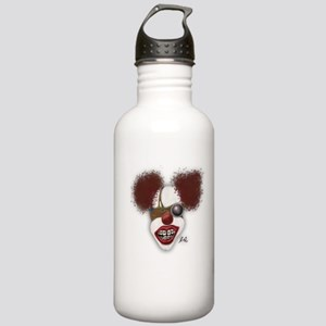 Steampunk Clown Stainless Water Bottle 1.0L