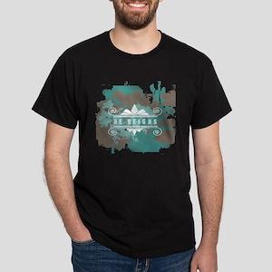 He Reigns Dark T-Shirt