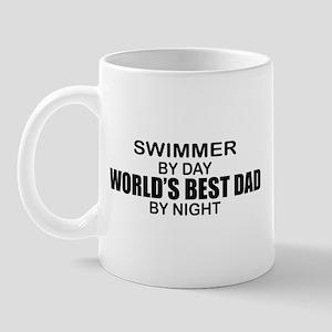 World's Greatest Dad - Swimmer Mug