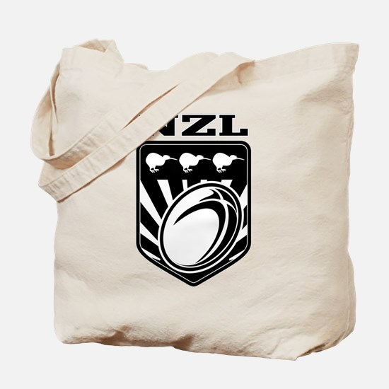 rugby new zealand Tote Bag