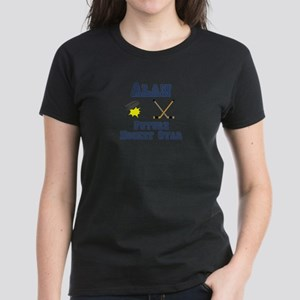 Alan - Future Hockey Star Women's Dark T-Shirt