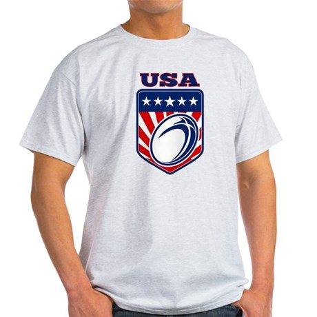 rugby usa Light T-Shirt