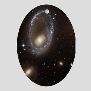 Ring Galaxy Keepsake (Oval)