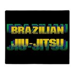 Jiu Jitsu Throw Blanket