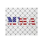 USA MMA Throw Blanket